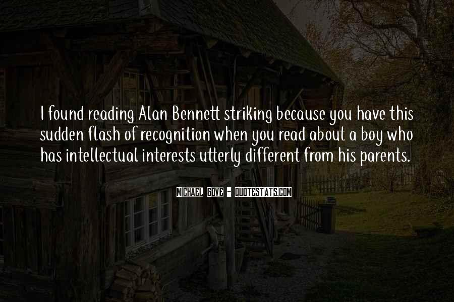Quotes About Alan Bennett #355946