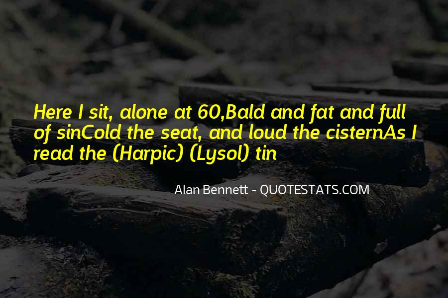 Quotes About Alan Bennett #397663