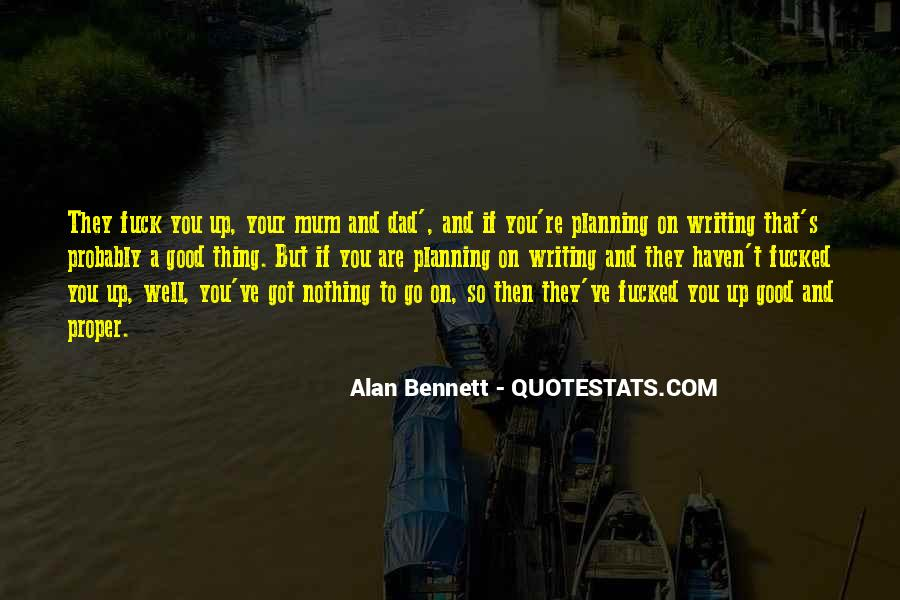 Quotes About Alan Bennett #478191