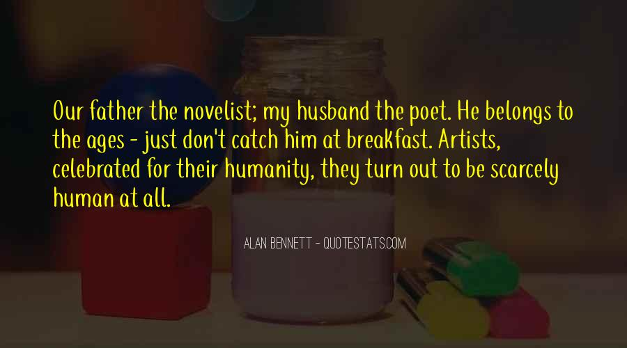 Quotes About Alan Bennett #503181