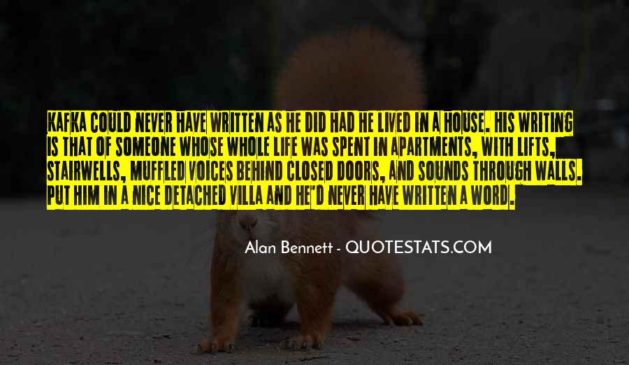 Quotes About Alan Bennett #507191