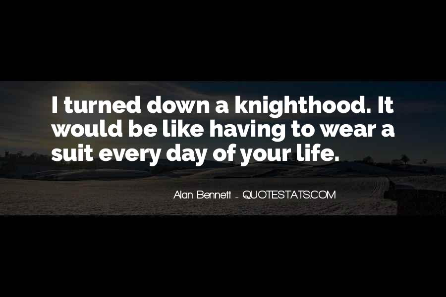 Quotes About Alan Bennett #71042