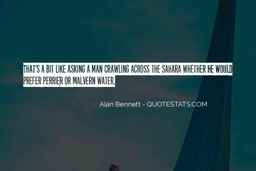 Quotes About Alan Bennett #733386