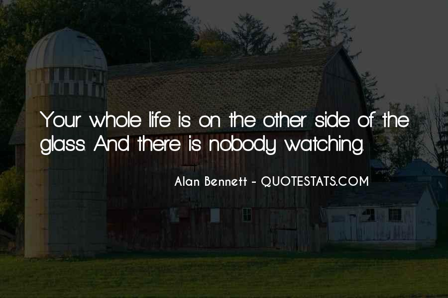 Quotes About Alan Bennett #74022