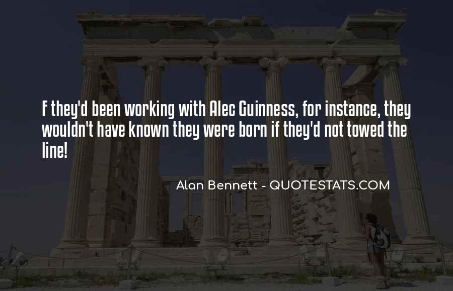 Quotes About Alan Bennett #776052