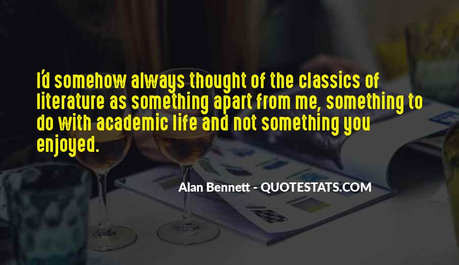 Quotes About Alan Bennett #805407