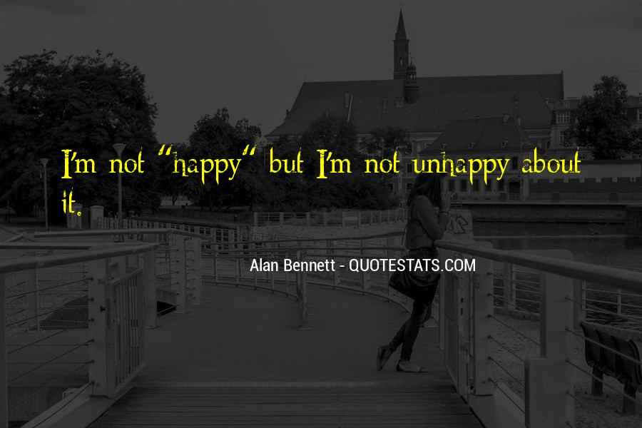 Quotes About Alan Bennett #89369