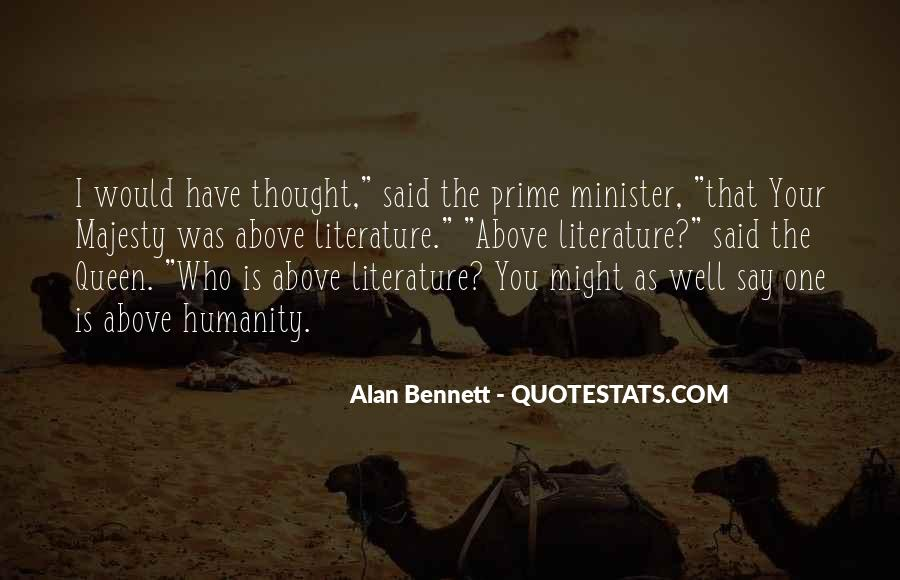 Quotes About Alan Bennett #963660