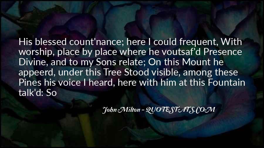 Pines Tree Quotes #1844552