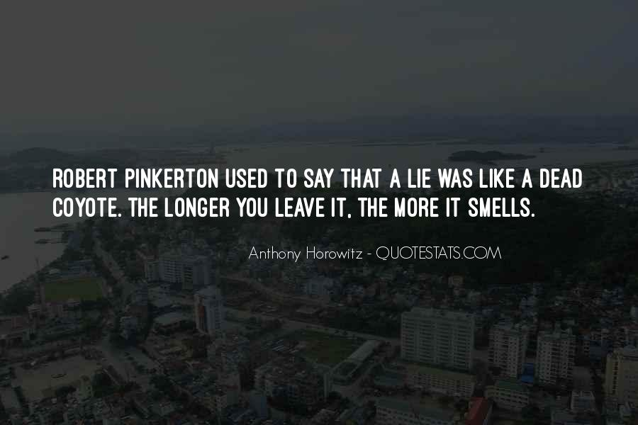 Pinkerton Quotes #1462252