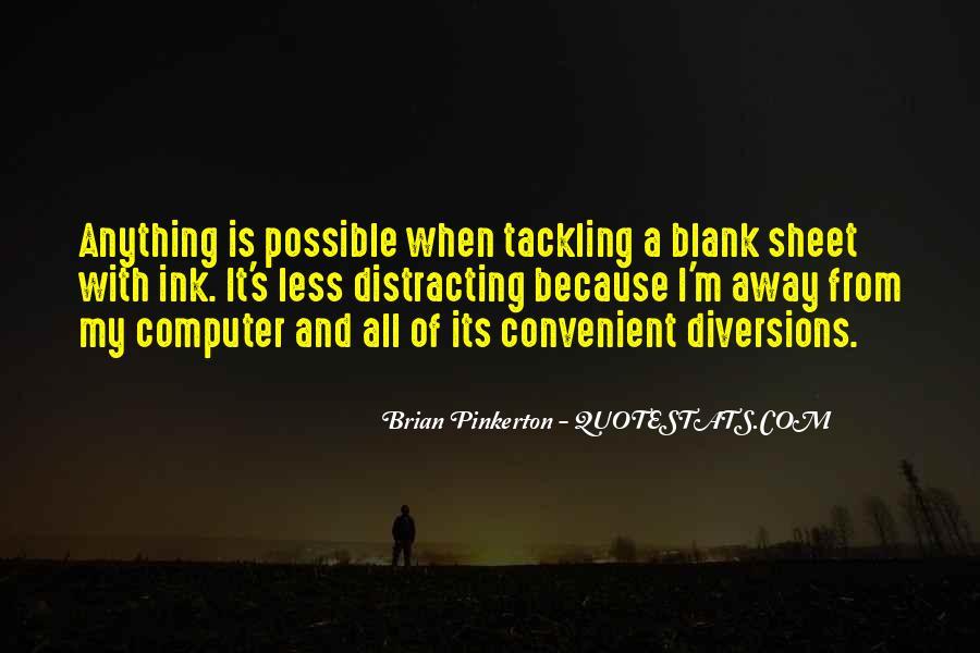 Pinkerton Quotes #1720829