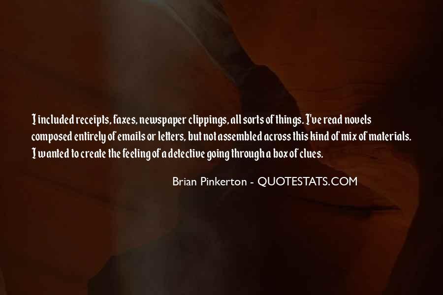 Pinkerton Quotes #185058
