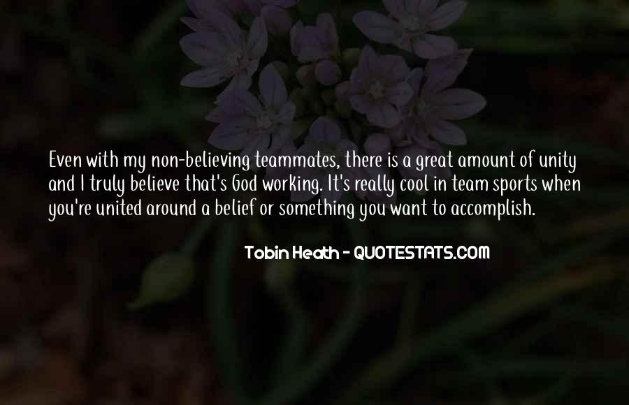 Quotes About A Teammates #1195197