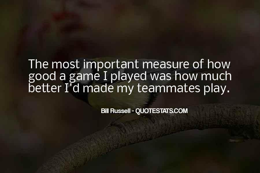 Quotes About A Teammates #22371