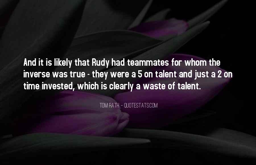 Quotes About A Teammates #416303