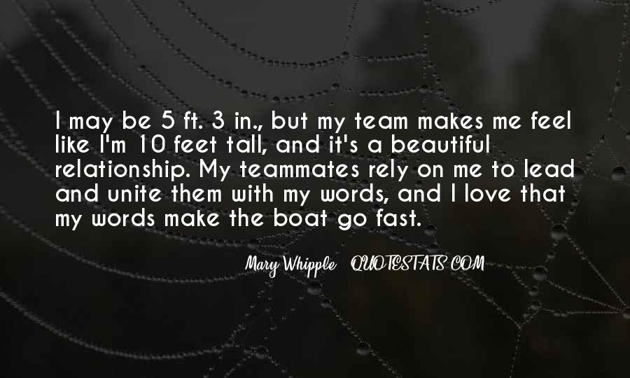 Quotes About A Teammates #834831