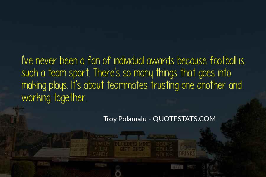 Quotes About A Teammates #933810