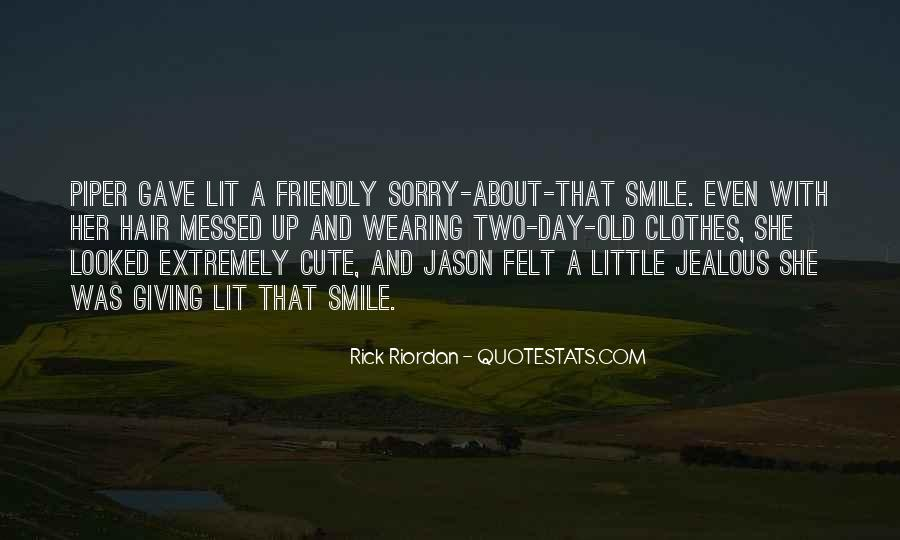 Piper Mclean And Jason Grace Quotes #1199587