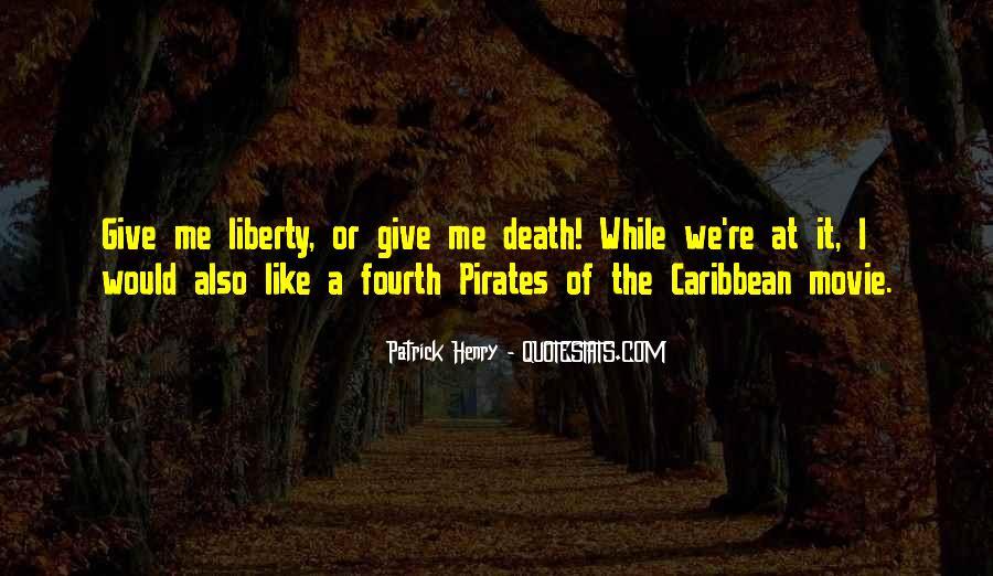 Pirates Of Caribbean Quotes #1302671