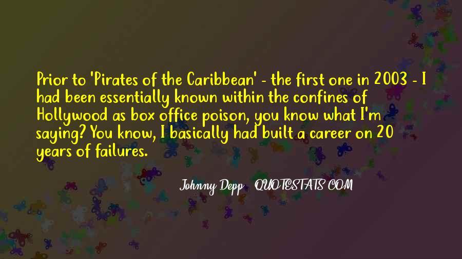 Pirates Of Caribbean Quotes #1459635