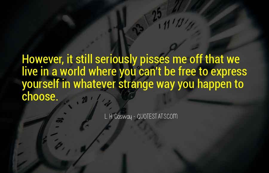 Pisses Me Off Quotes #1833969