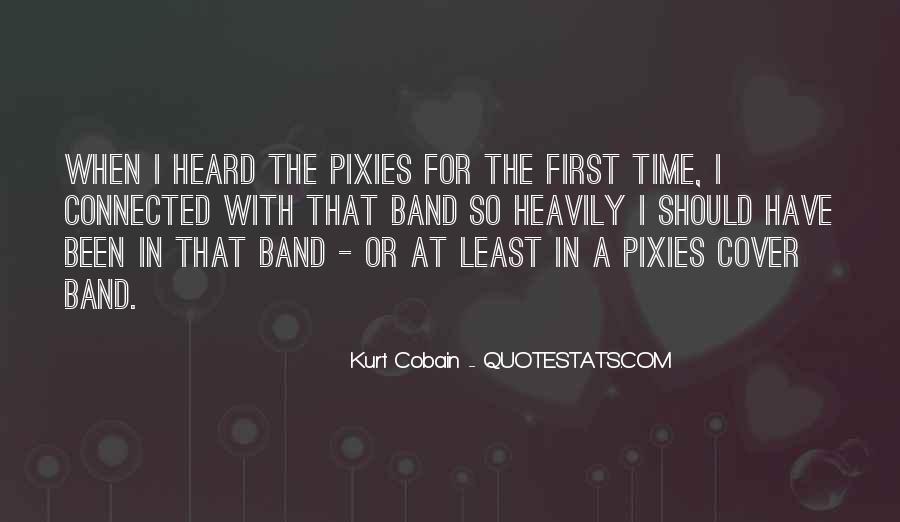 Pixies Band Quotes #1109882