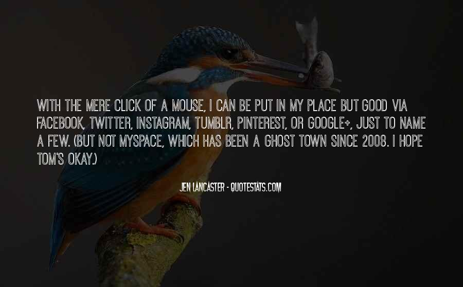 Place Name Quotes #415806
