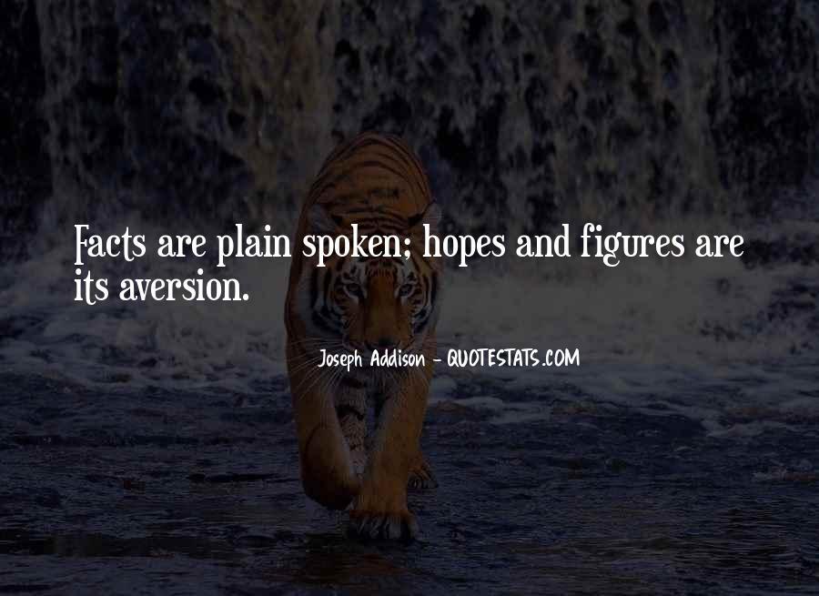 Plain Spoken Quotes #1142421