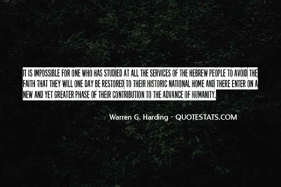 Quotes About Warren G Harding #1544256