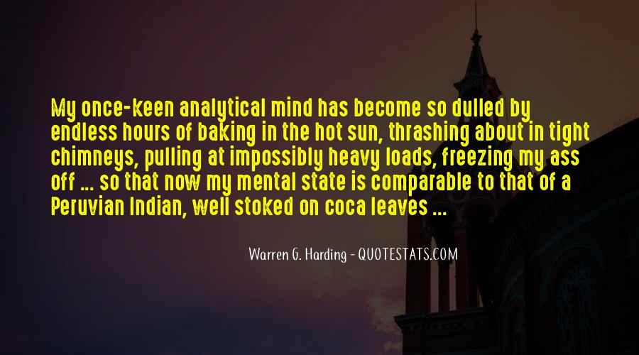 Quotes About Warren G Harding #229929