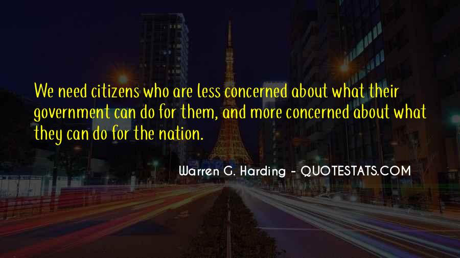 Quotes About Warren G Harding #351871