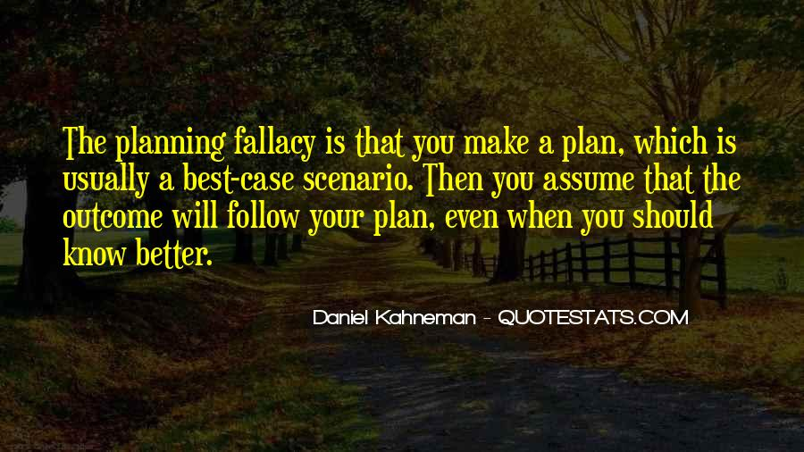 Planning Fallacy Quotes #1537055