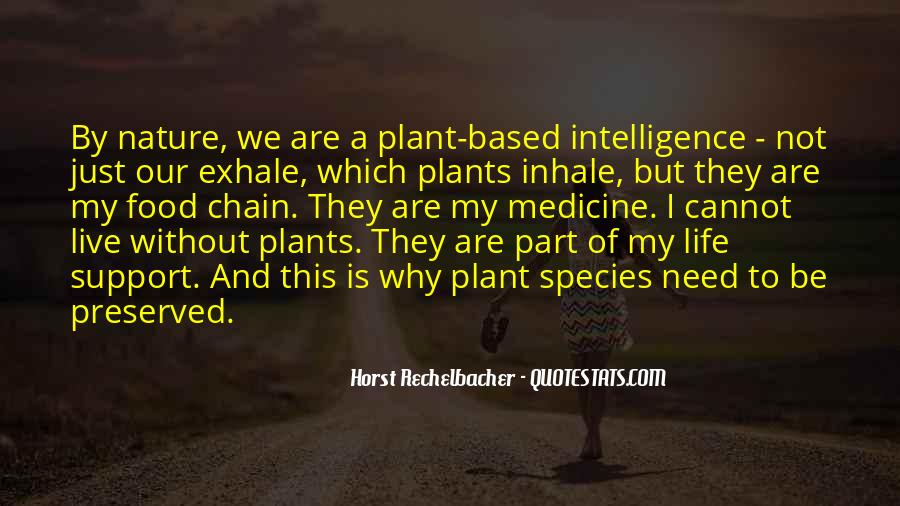 Plant Based Life Quotes #1809475
