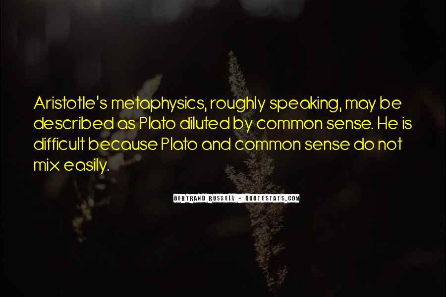 Plato Metaphysics Quotes #998959