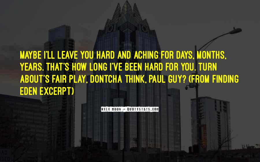 Play Fair Quotes #321819