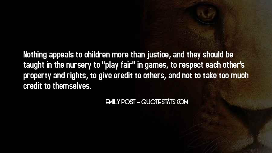 Play Fair Quotes #39332