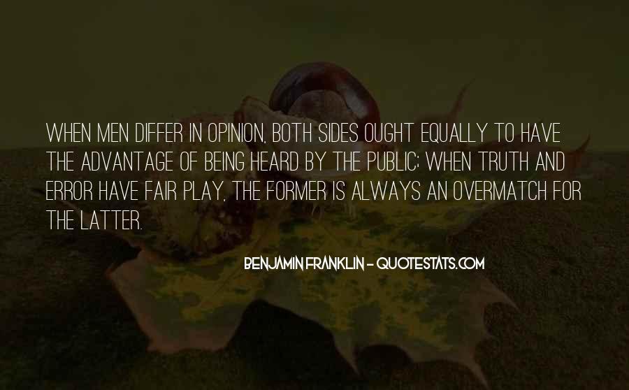 Play Fair Quotes #395260