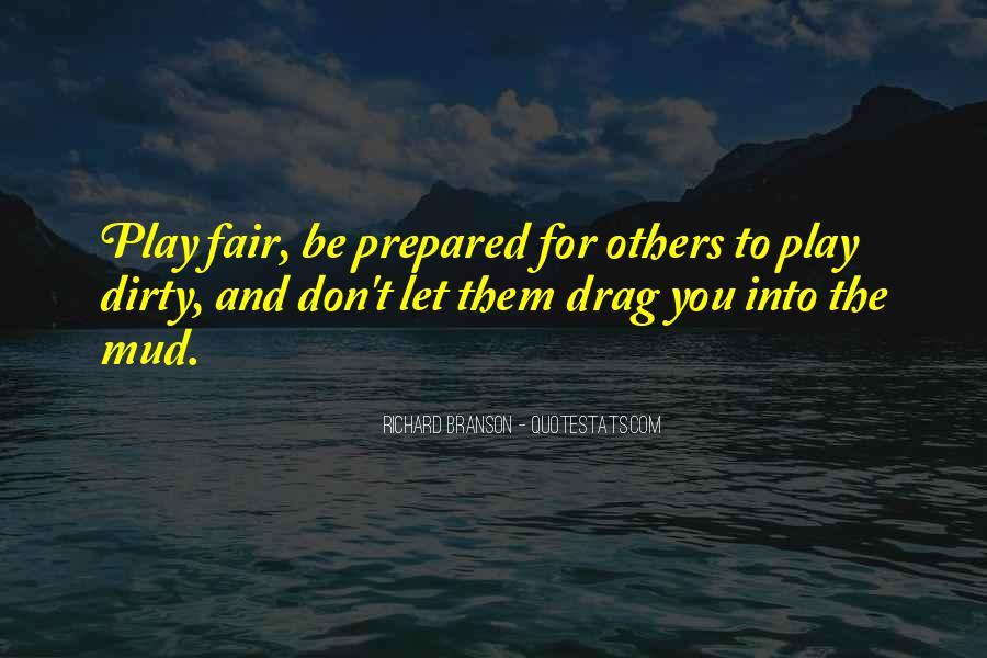 Play Fair Quotes #45803