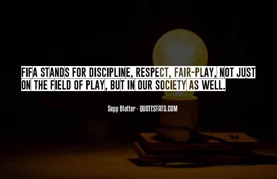 Play Fair Quotes #515088