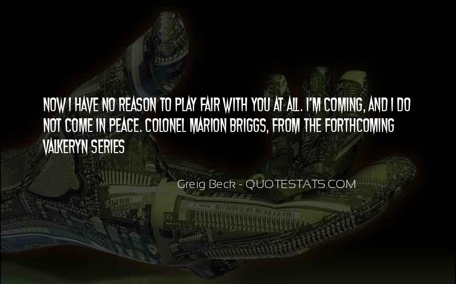 Play Fair Quotes #739744