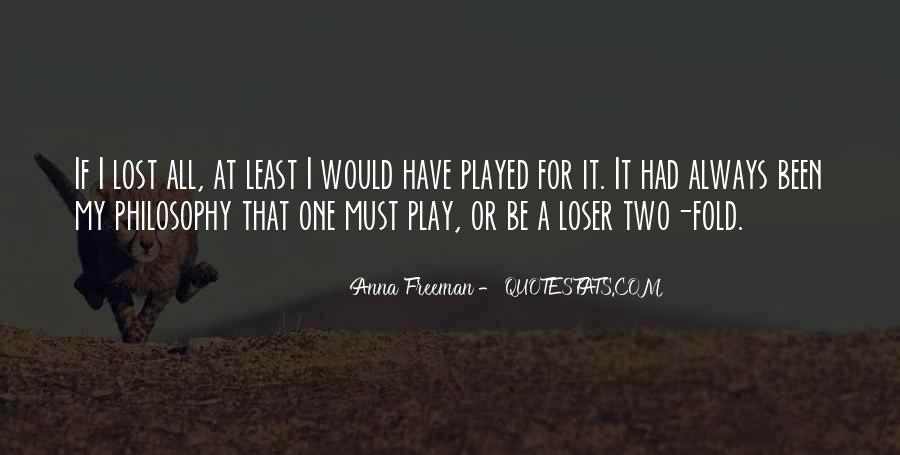 Play Fair Quotes #792314