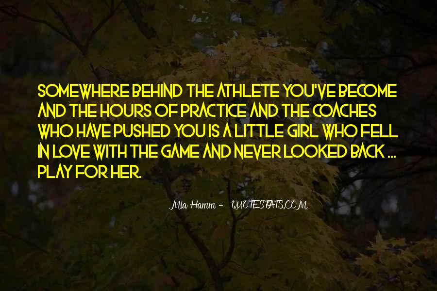 Play The Game Of Love Quotes #92251