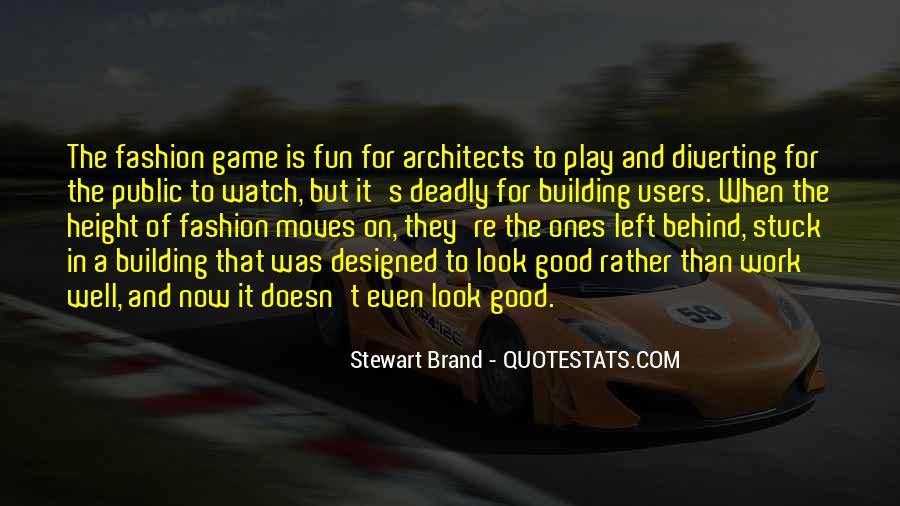 Play The Game Well Quotes #855815