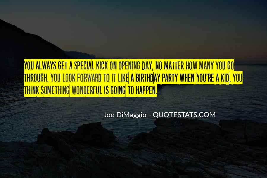 Quotes About Joe Dimaggio #1082511