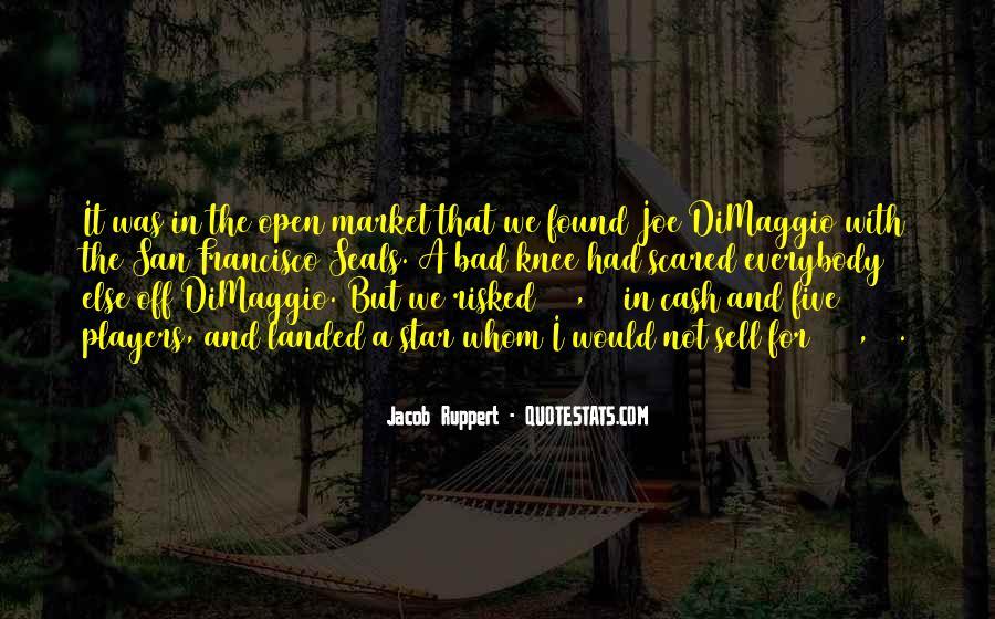 Quotes About Joe Dimaggio #1497813