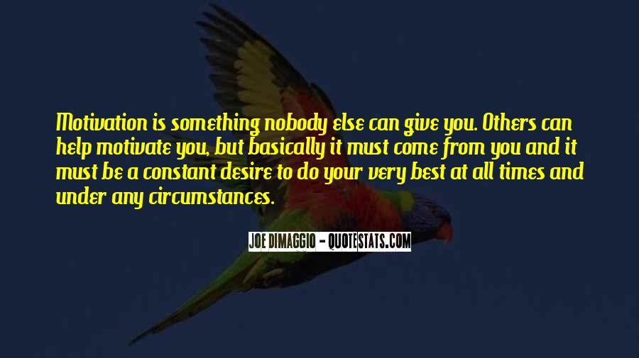 Quotes About Joe Dimaggio #211455