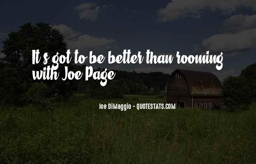 Quotes About Joe Dimaggio #500008