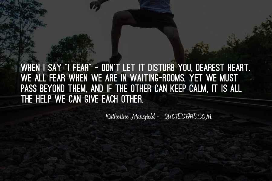 Please Don Disturb Quotes #1066918