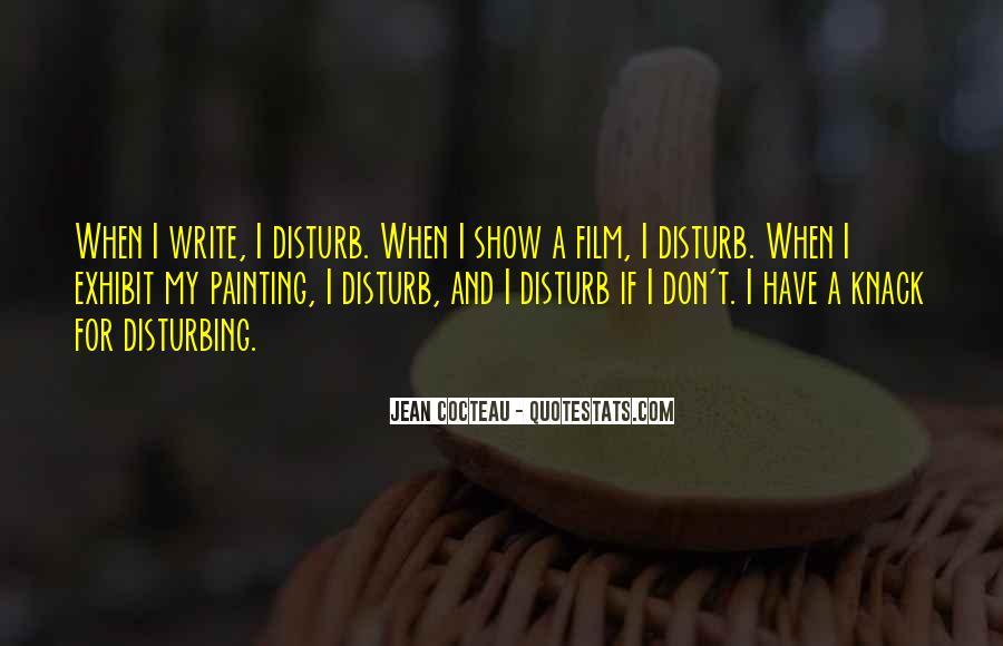 Please Don Disturb Quotes #1733831