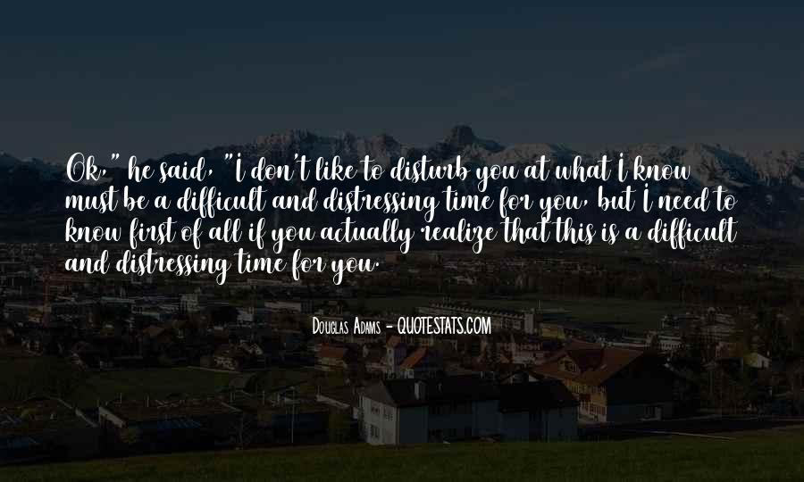 Please Don Disturb Quotes #1869552